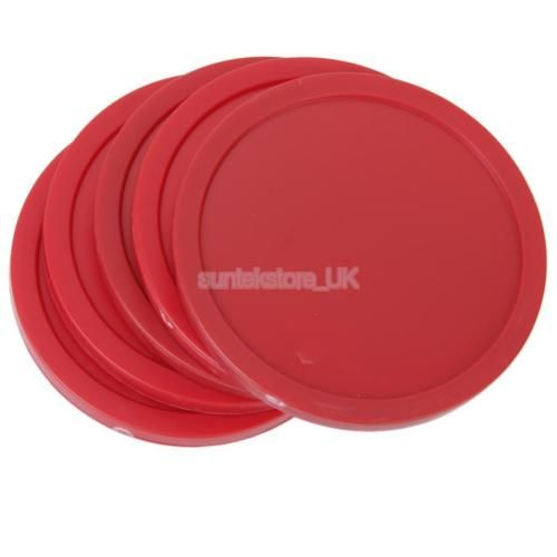 4pcs 82mm #table arcade game air #hockey pucks red round circle children #adult,  View more on the LINK: http://www.zeppy.io/product/gb/2/401054589181/