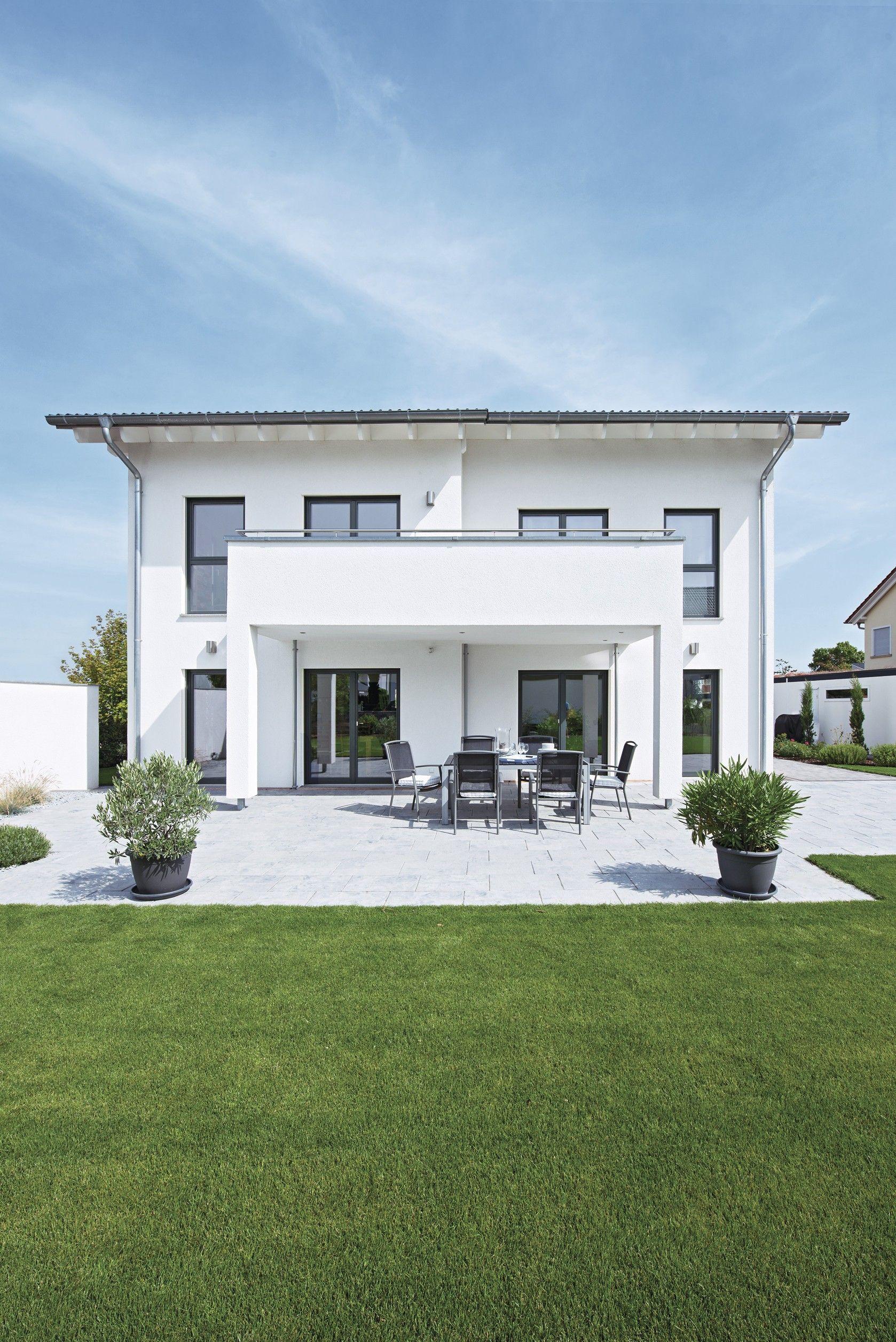 Weberhaus fertigbauweise fertighaus holzbauweise for Zweifamilienhaus bauhausstil