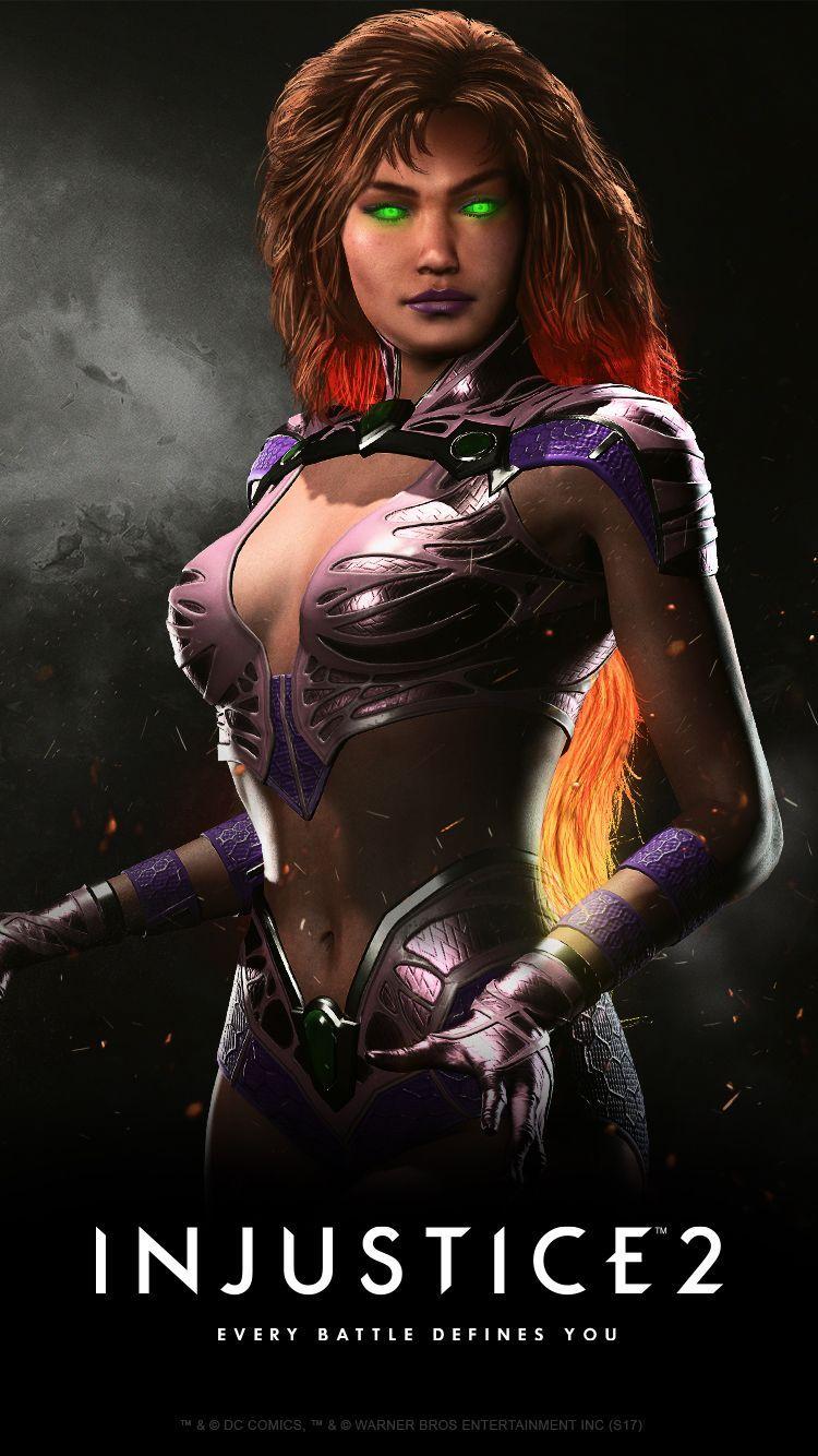Starfire Dc Superhero Injustice 2