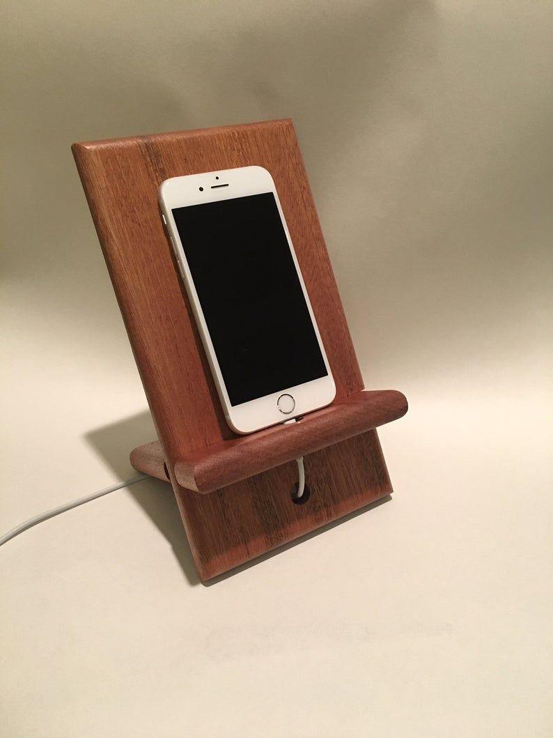 Phone Dock / Phone Stand / Ipad Stand en 2020 | Soporte del ...