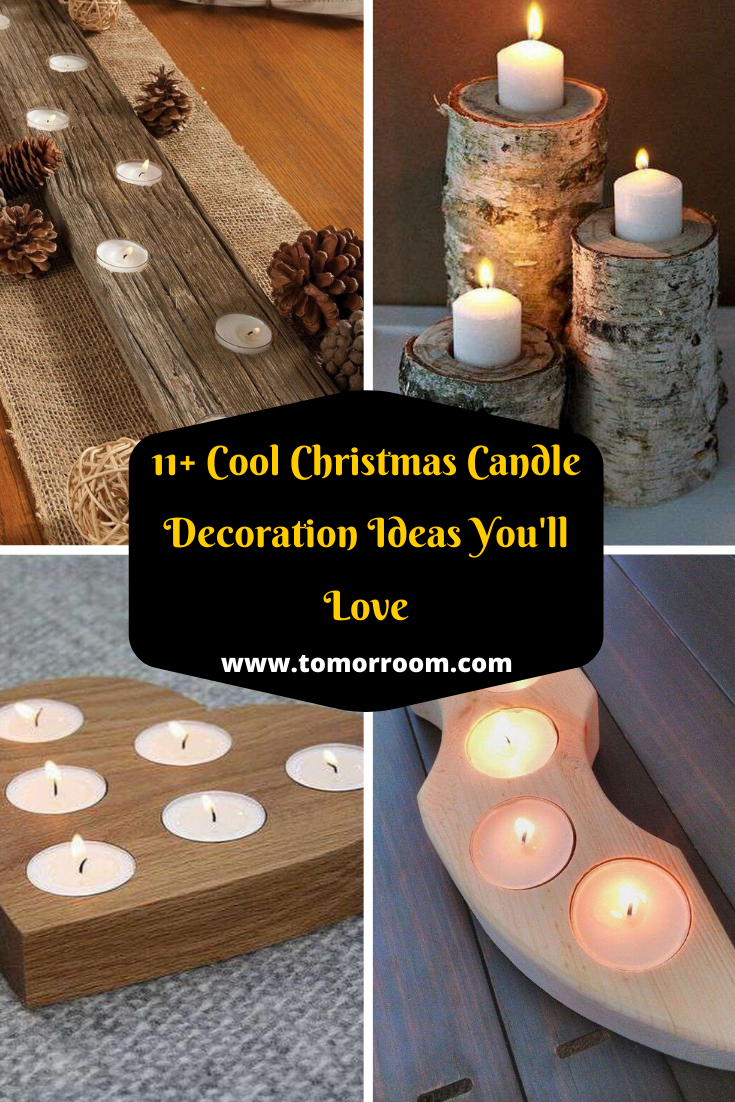 8 Most Lovely Christmas Candle Decoration Ideas To Try In 2020 Christmas Candle Decorations Christmas Candle Candle Decor