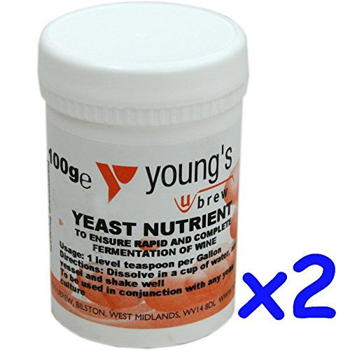 2x Yeast Nutrient 100g Youngs - Home brew Beer