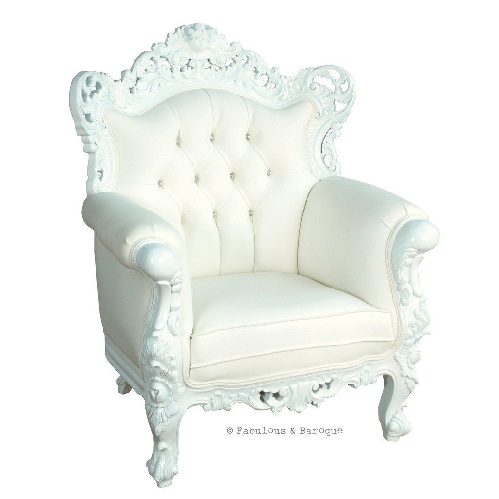 Belle de fleur white princess room rococo furniture