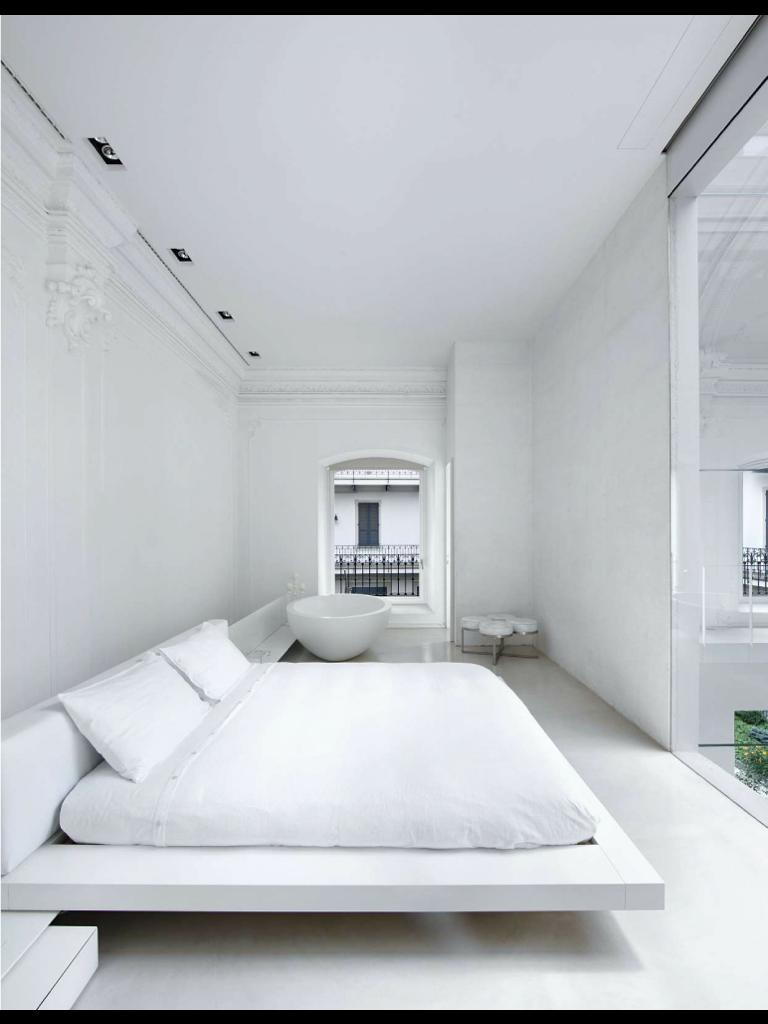 White Elle Deco Maison Chambre A Coucher Decoration Elegante