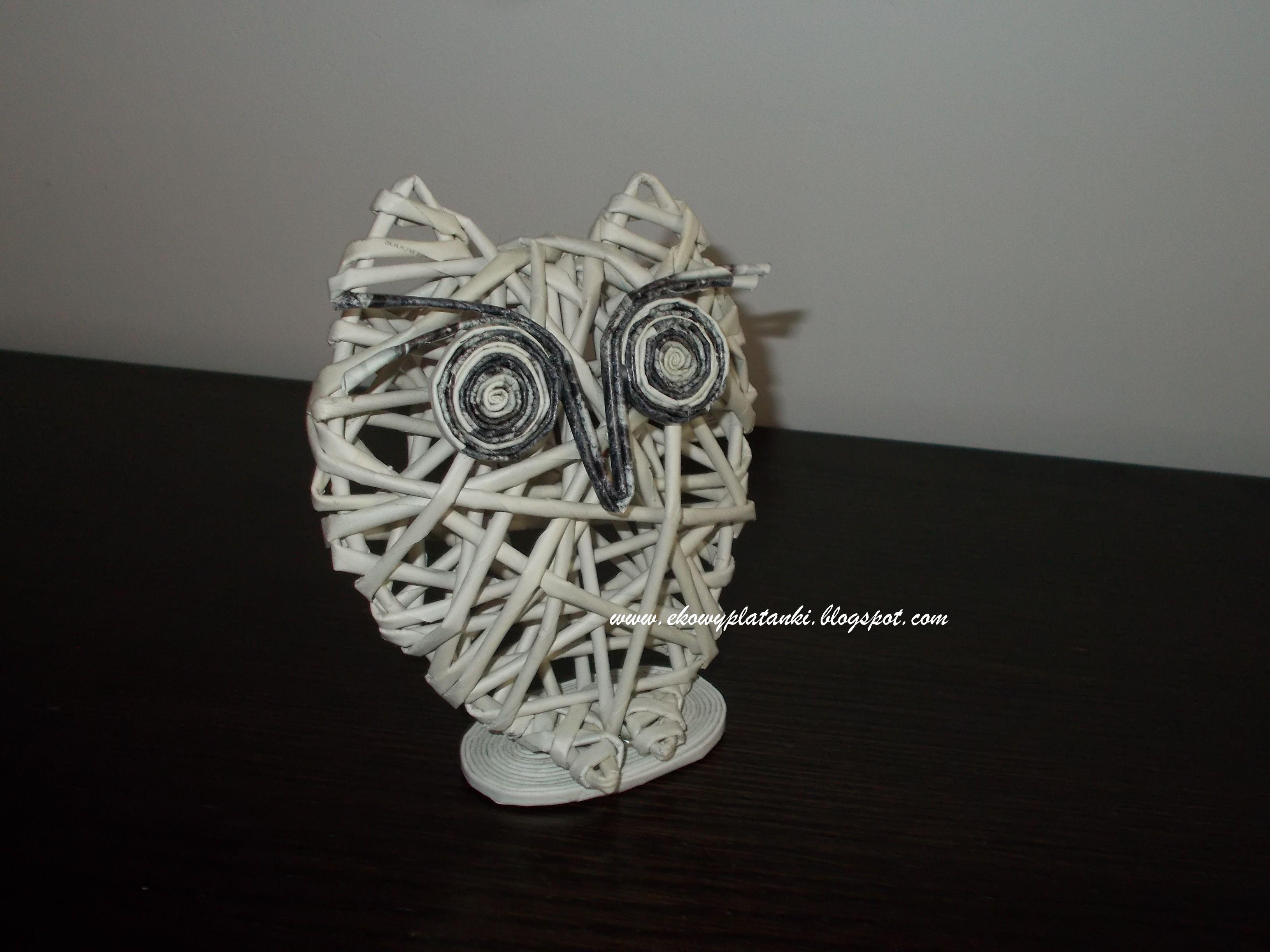 Sowa Z Papierowej Wikliny Floral Rings Floral Jewelry