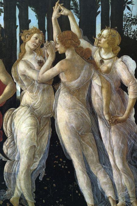 Caterina Sforza, immortalised by Sandro Botticelli