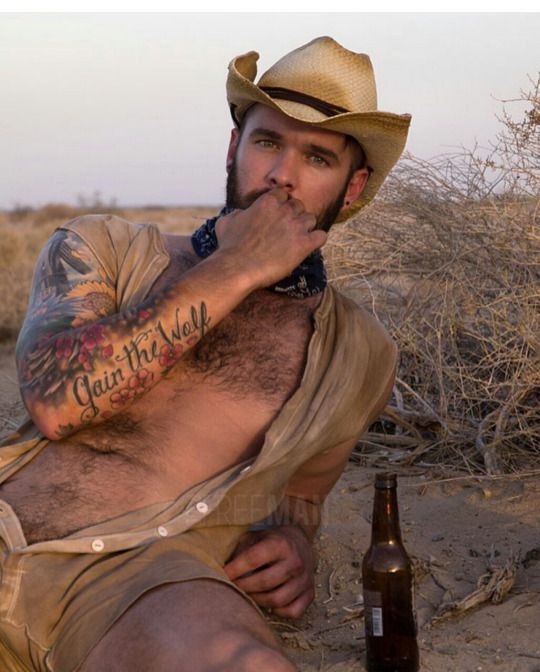 Hairy Gay Cowboys