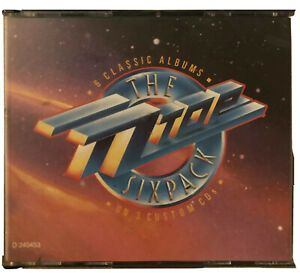 ZZ Top ‎– The ZZ Top Sixpack -Warner Bros. Records-9256612•3 × CD