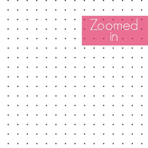 photograph relating to Bullet Journal Dot Grid Printable identify Printable Dot Grid Paper, A5 Planner Include, Rhodia-Layout