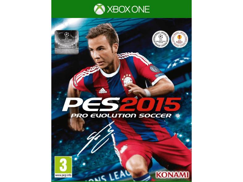 génial DIES SW PES 2015 UK Xbox One chez Media Markt Pro
