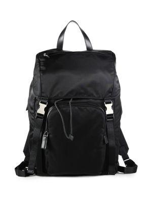 2bc2192efe2e PRADA Nylon Backpack. #prada #bags #nylon #backpacks # | Prada Men ...