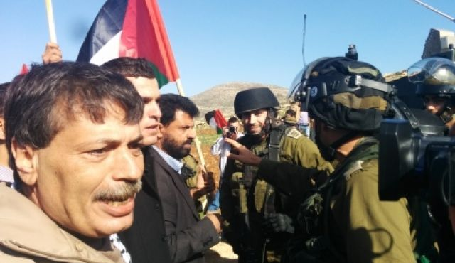 10/12/14 #PALESTINA. Ministro Anp Ziad Abu Ein ucciso dai soldati #Israele durante protesta non violenta (LEGGI)