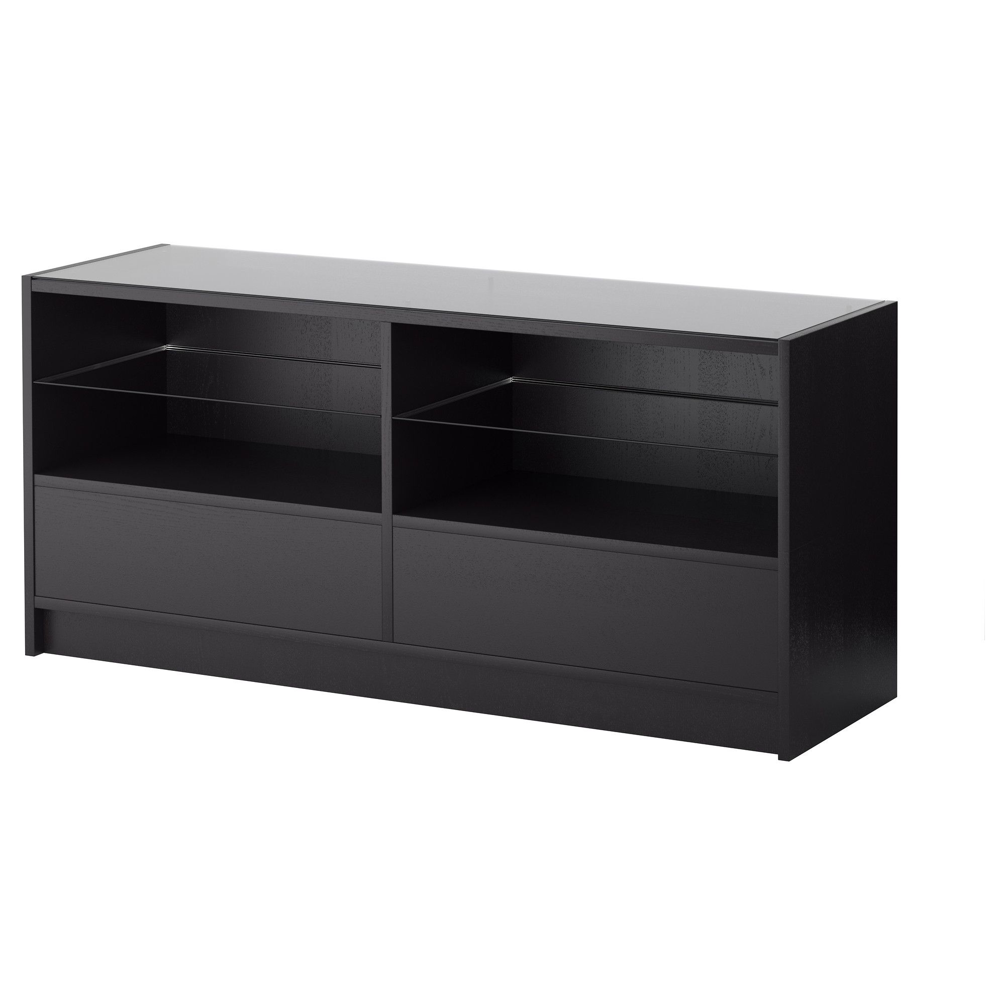 Rehausse Tv Ikea Boksel Console Table Black Brown Ikea Ideas For The Home
