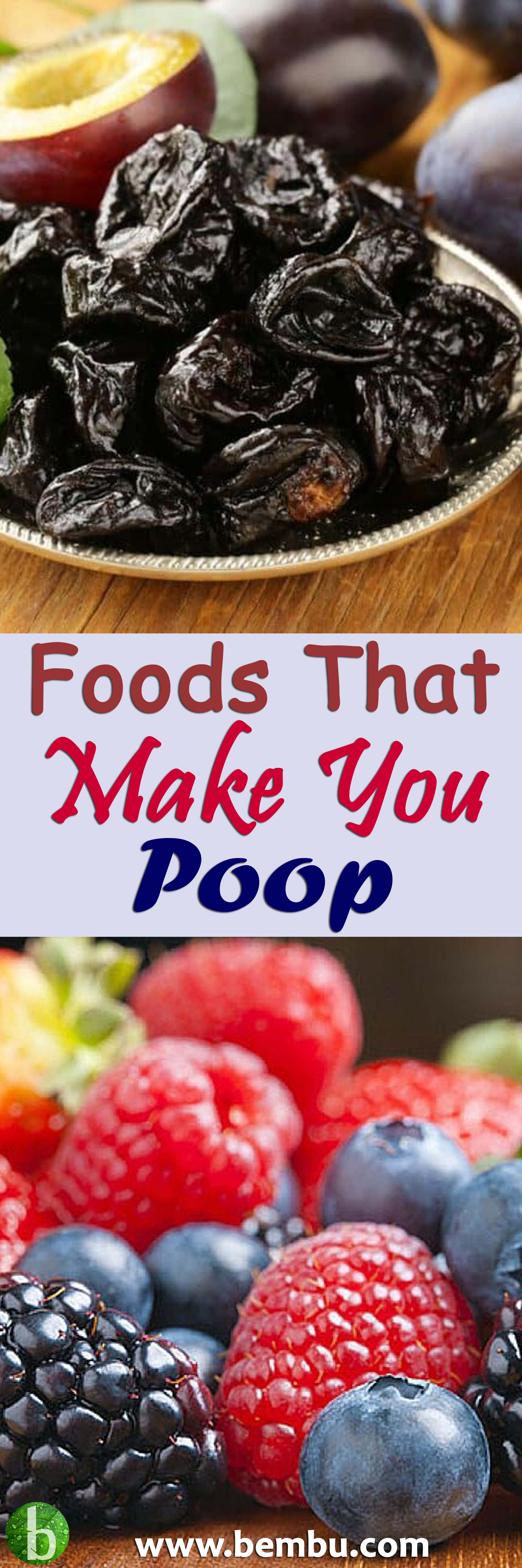 17 foods that make you poop- for constipation relief | health