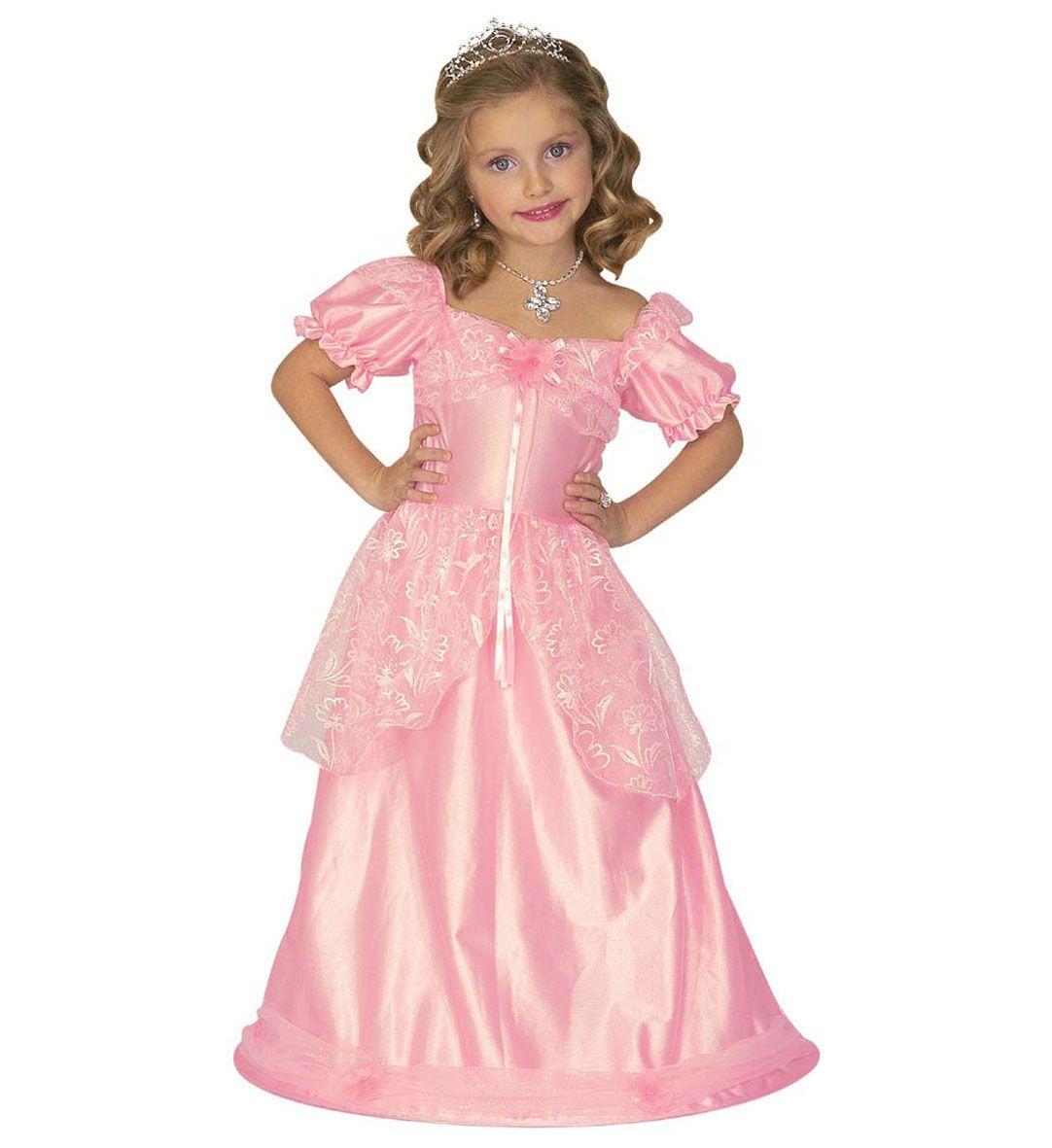 Princesa rosa (vestido con circulo) Disponible para: 3-4 años (110 ...