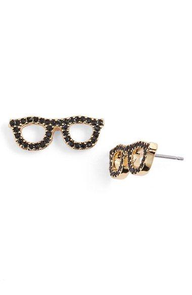 99e0199a14217 kate spade new york 'things we love - goreski glasses' stud earrings ...