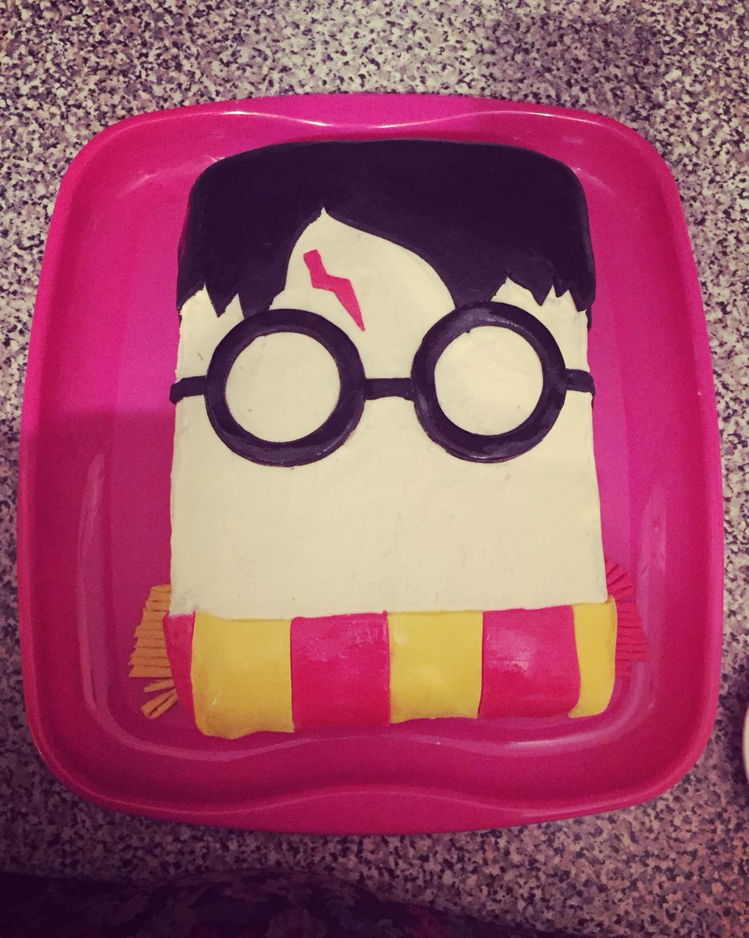 This Is My Simple Harry Potter Cake
