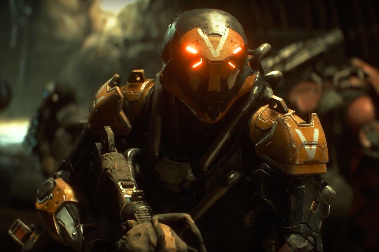 Watch Four Minutes Of New Anthem Gameplay Anthem
