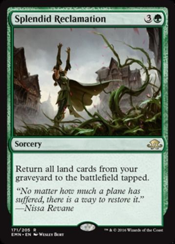 Mtg Magic The Gathering 4 Splendid Reclamation Eldritch Moon Color
