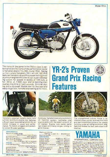 Brochures The Marquis Yamaha Bikes Yamaha