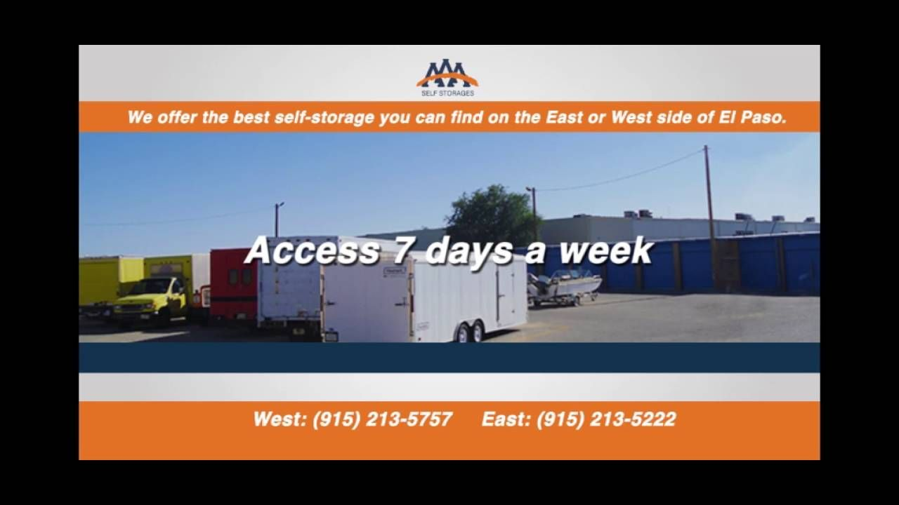 Whether you need long term or short term storage, AAA Self
