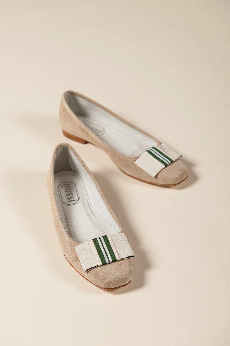 quality design be406 babb1 Gössl Online-Shop - Ballerina aus Veloursleder - Schuhe ...