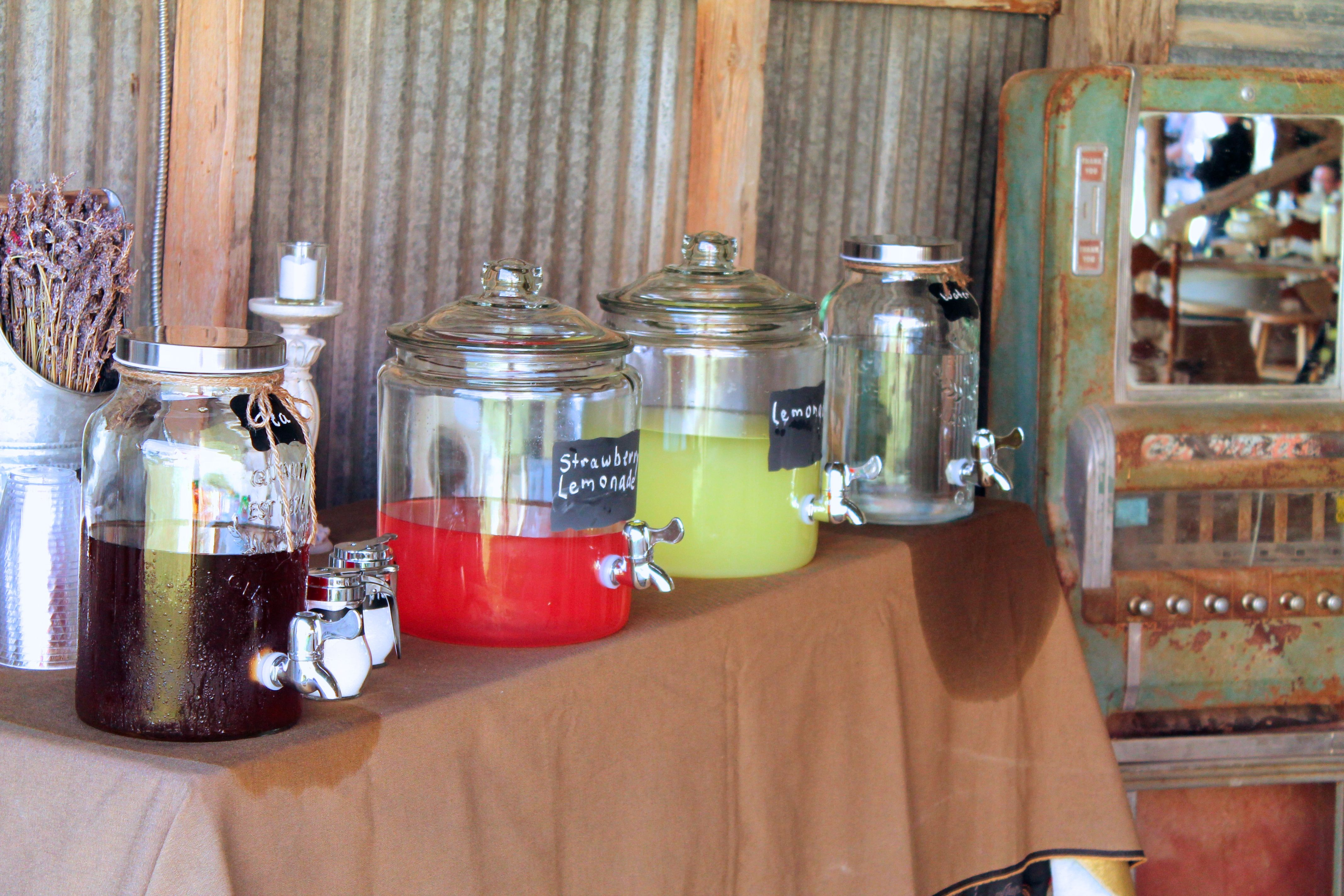 Beverage Bar Luscombe Farms