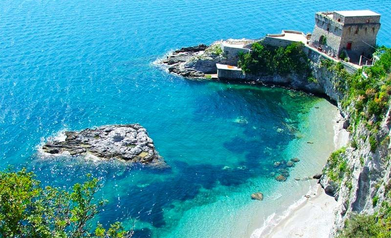 The Amalfi Coast Has Lots Of Beaches And Hidden Coves It S