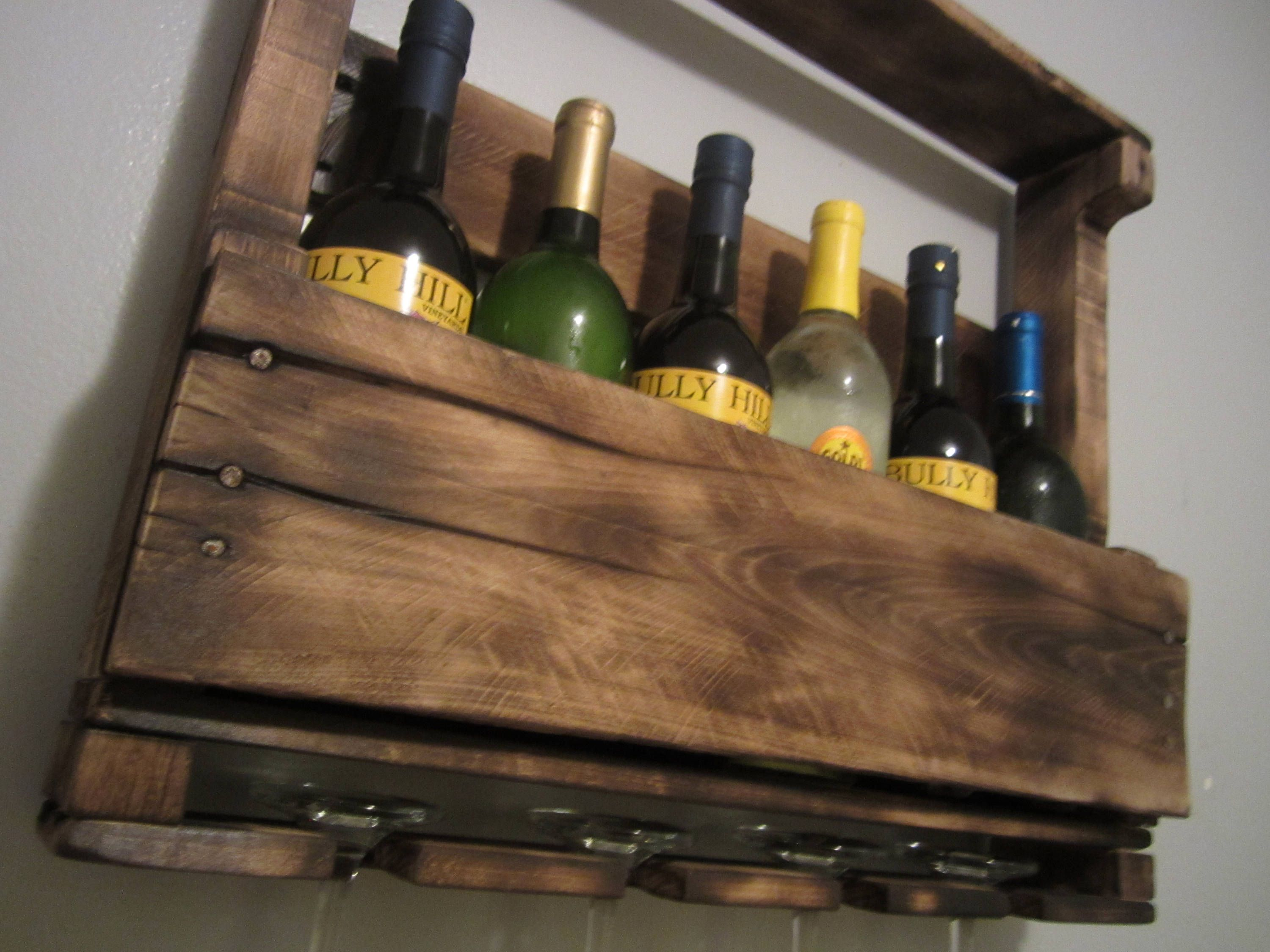 Wall Wine Shelves