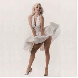 La robe blanche de marilyn monroe