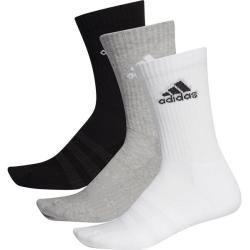 Adidas Herren Socken Cushioned Crew, Größe L In Mgreyh/mgreyh/black, Größe L In Mgreyh/mgreyh/black