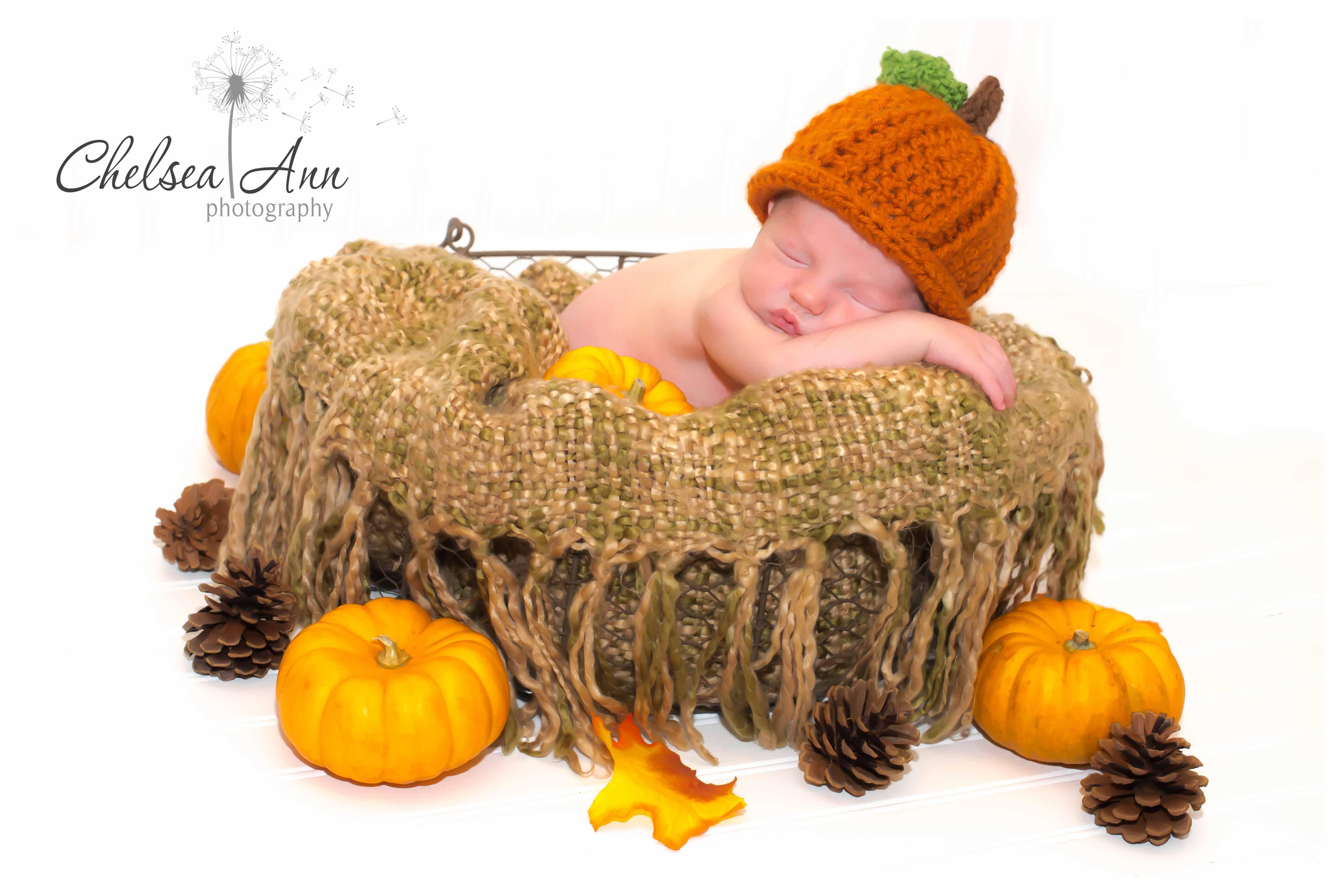 #Newborn #Photography #Fall #Halloween www.chelsea-ann-photography.com www.facebook.com/chelseaannphotographyNC