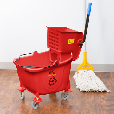 Red Mop And Bucket Images