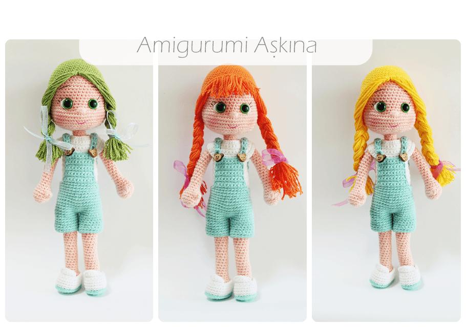 Amigurumi Askina Demet : Tiny Mini Design: Amigurumi Bebekler-Dolls Crafts ...
