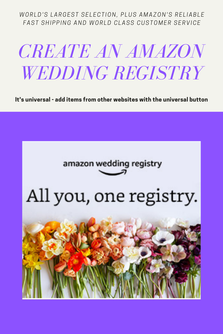 Create A Wedding Registry In 2020 Amazon Wedding Registry Wedding Registry Wedding