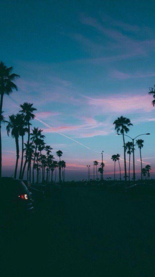 Imagem de sky, summer, and sunset