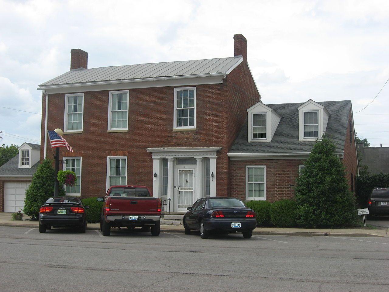 Benjamin Passmore House in Mercer County, Kentucky  | Places