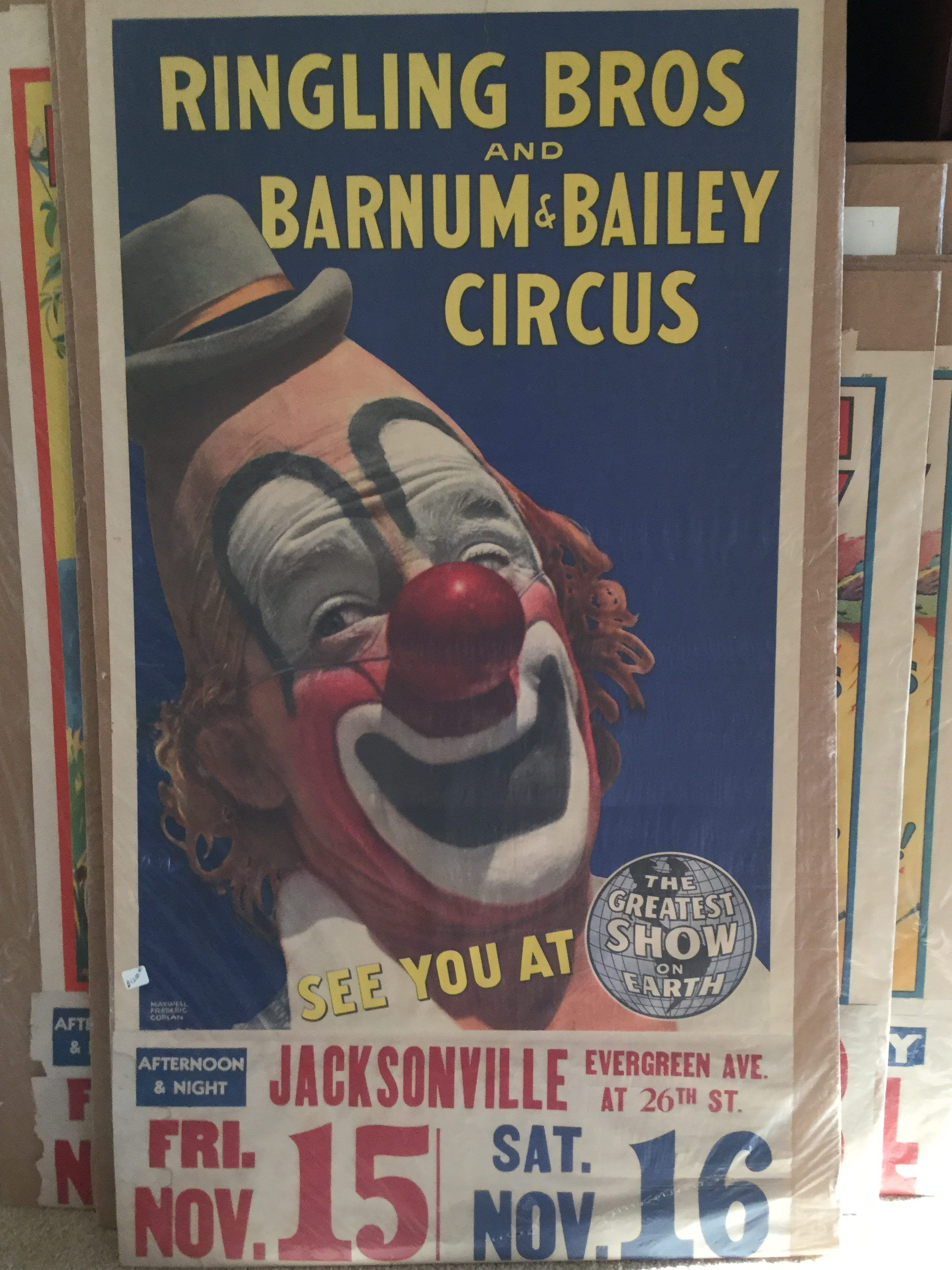 Ringling Bros Barnum & Bailey Circus Poster | Famous ...