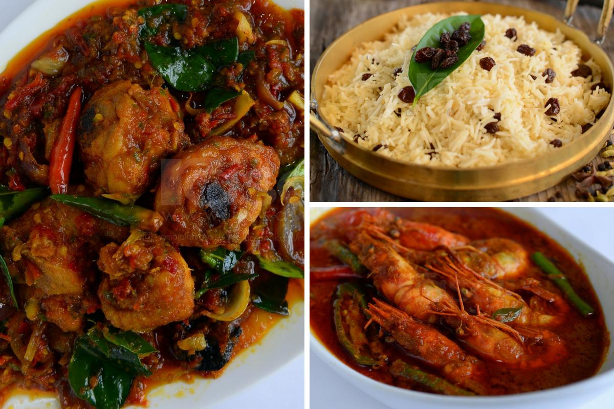 Set Nasi Kukus Kismis Bersama Lauk Kari Udang Ayam Masak Berlada Div Menu Nasi Dan Lauk Pauk Istimewa Yang Sesuai Dihidangkan Buat Keluarga Di Hujung Minggu