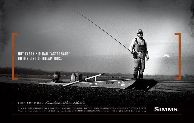 Pin By Dave Osborne On Advertising Fly Fishing Fish Dream Job