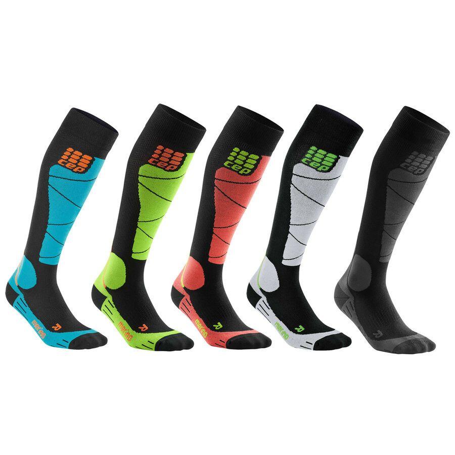 neuer Stil & Luxus marktfähig berühmte Designermarke CEP Ski Merino Socks Men Herren Kompressionssocken Skisocken ...