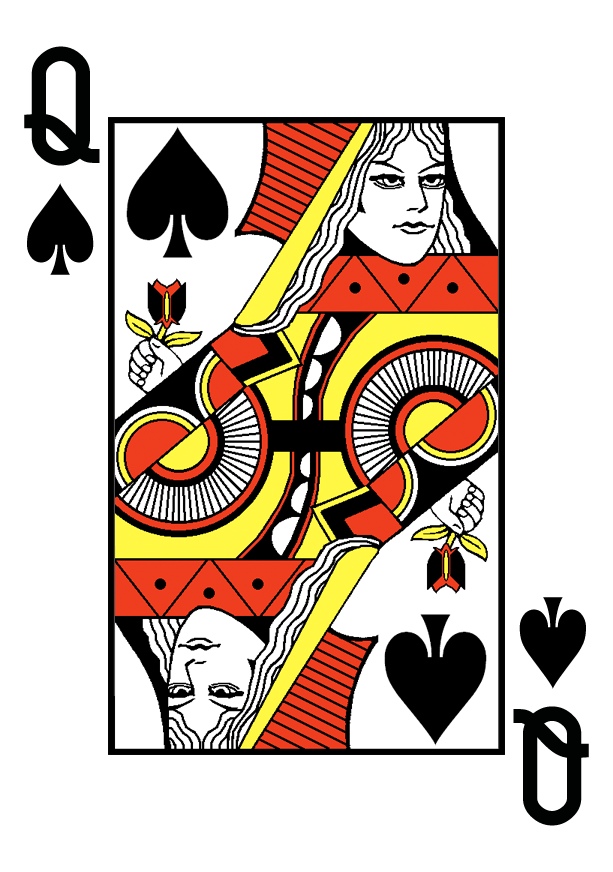 Queen Of Spades By Wheelgenius Queen Of Spades King Of Hearts Card Card Sharks