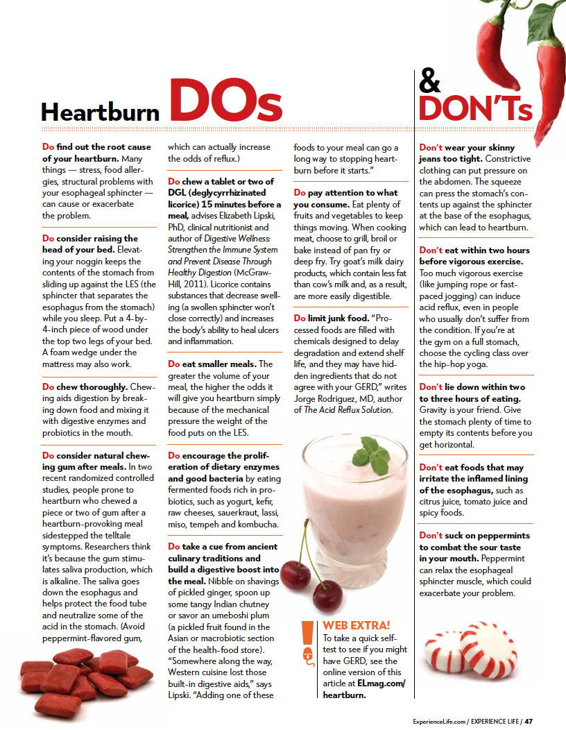 Are your eating and drinking patterns giving you heartburn ...