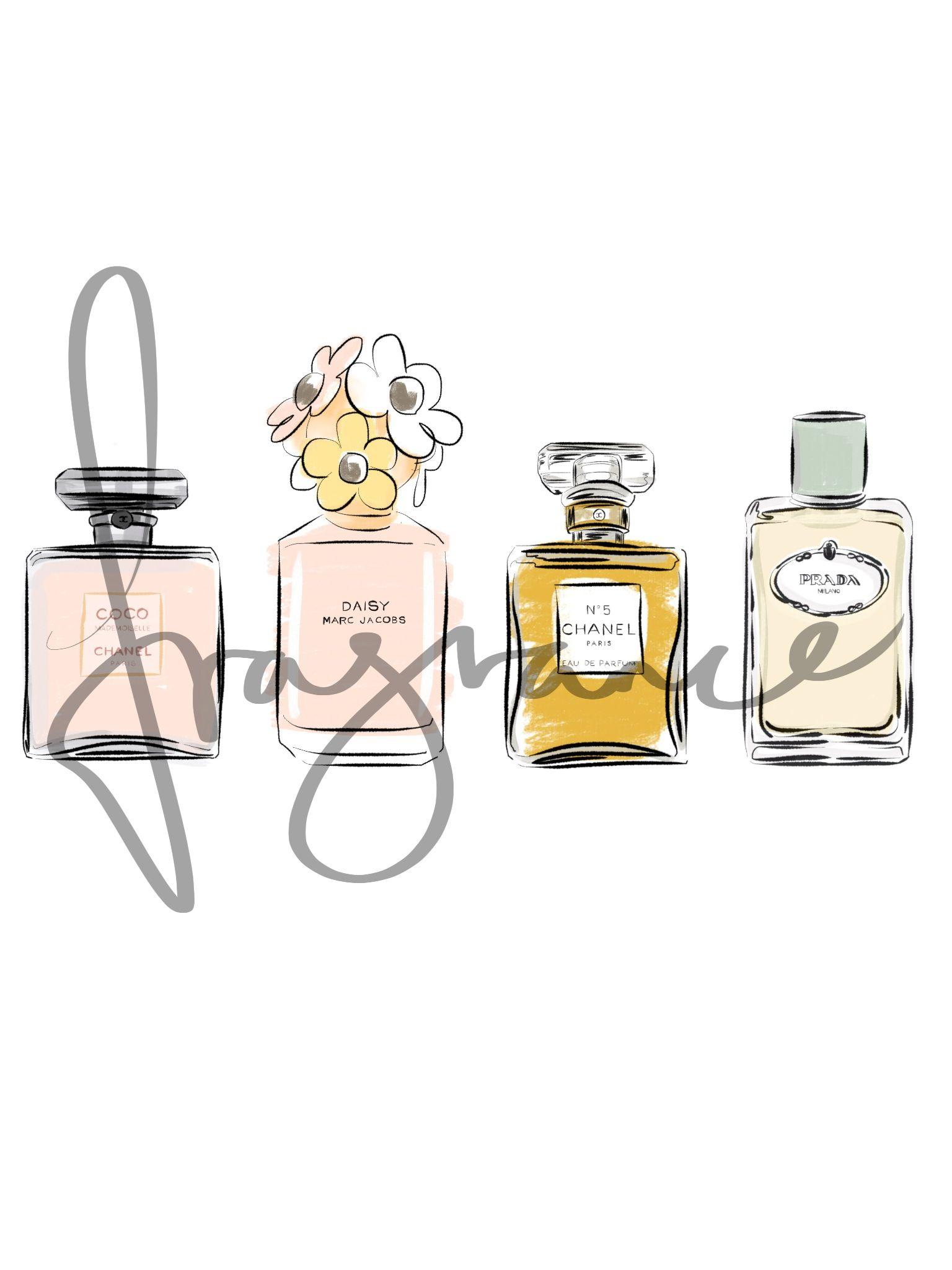 Fragrance  Perfume bottles - Chanel, Marc Jacobs, Prada  www.sallycotterill.co.uk Sally Cotterill © 2013
