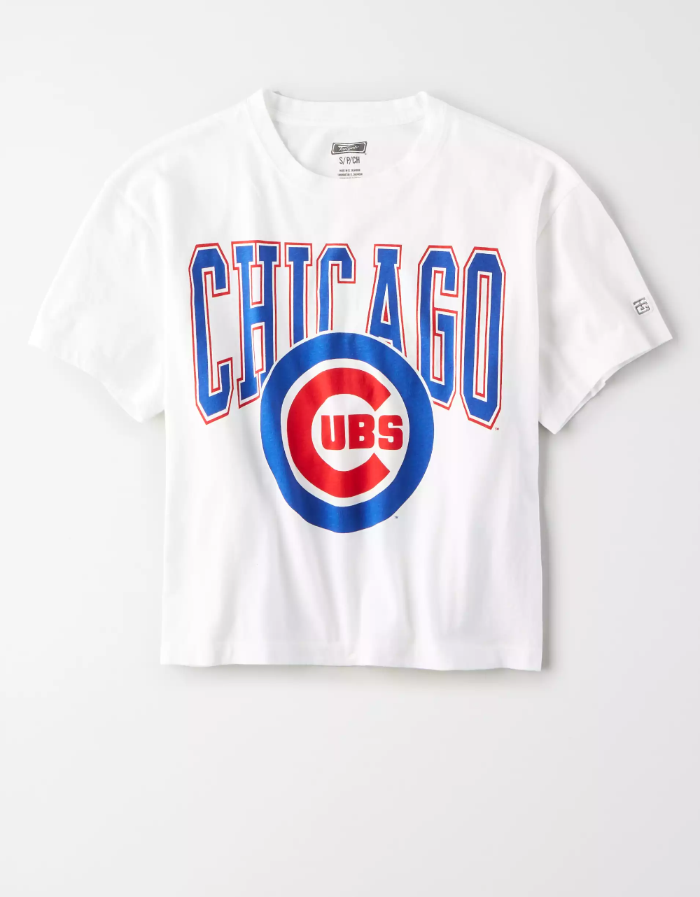 Tailgate Women S Chicago Cubs Cropped T Shirt Chicago Cubs Shirts Chicago Cubs Sweatshirt Chicago Cubs [ 1282 x 1000 Pixel ]