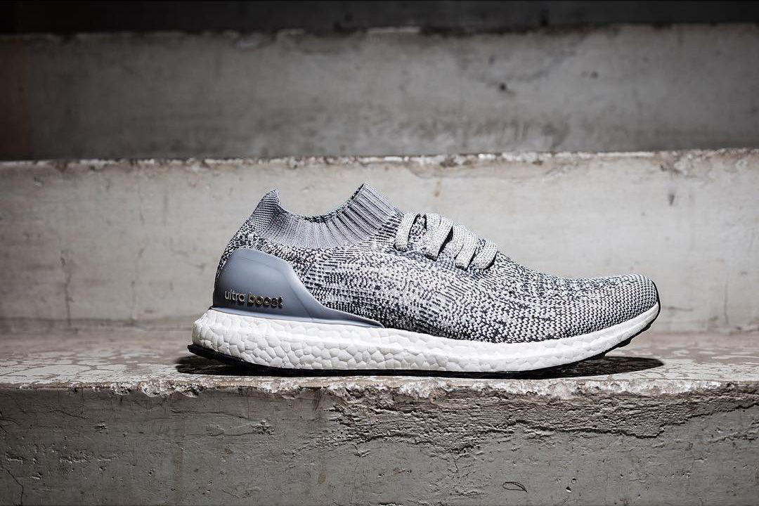 Adidas está bajando el Ultra Boost uncaged en gris adidas ultra