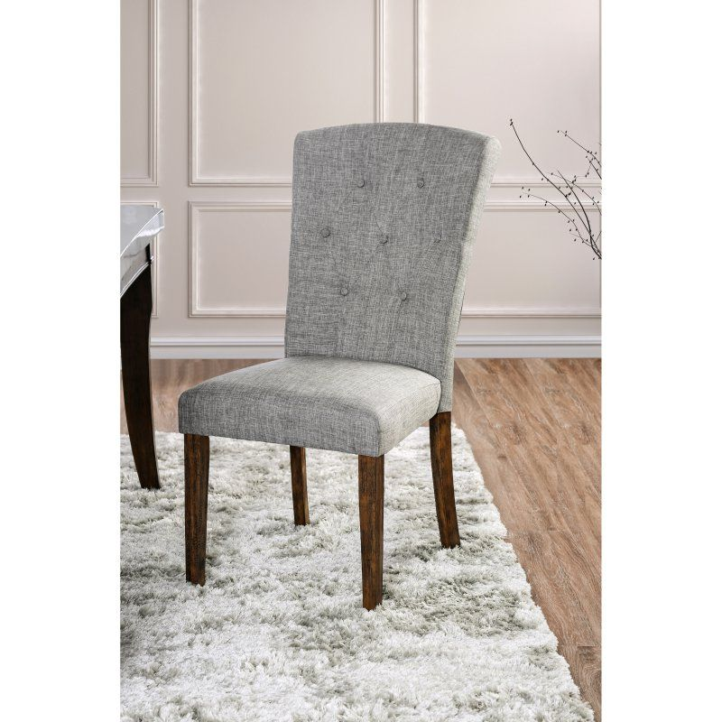Furniture Of America Tuscher Transitional Dining Chair Set Of 2