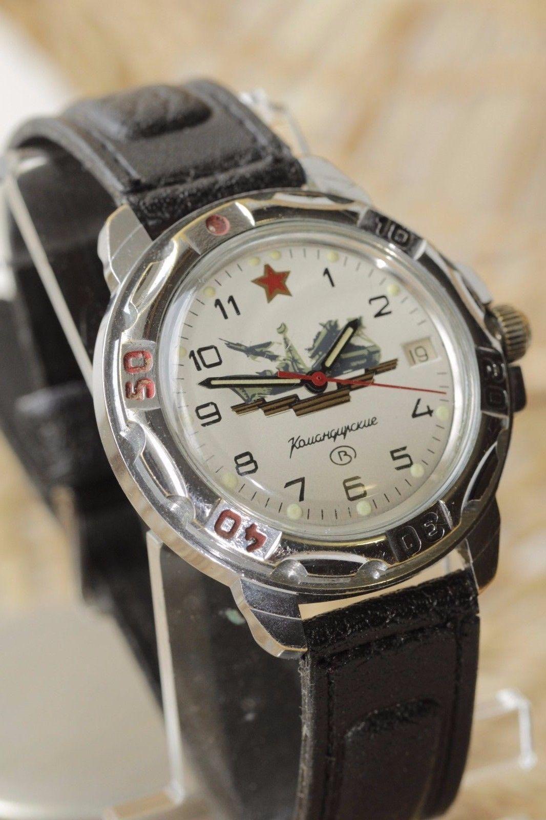 f8ef37b5dcc0 Details about VOSTOK KOMANDIRSKIE MECHANICAL Wrist Watch made in ...