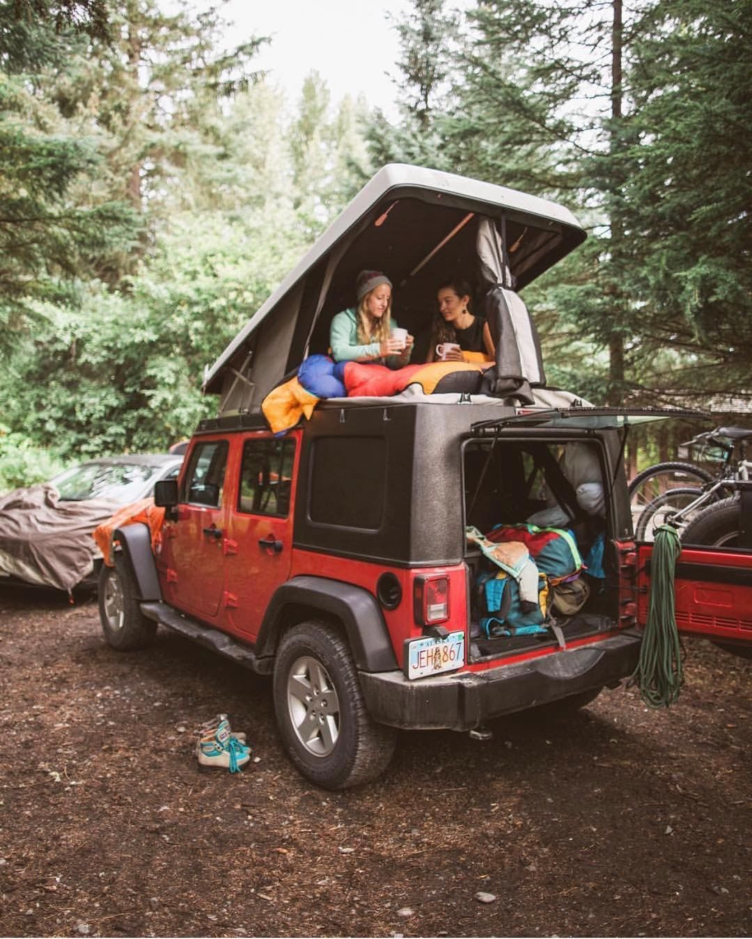 Pin By Doni Tso On Vanlife In 2018 Pinterest Travel Adventure Jeep Wrangler Camper A