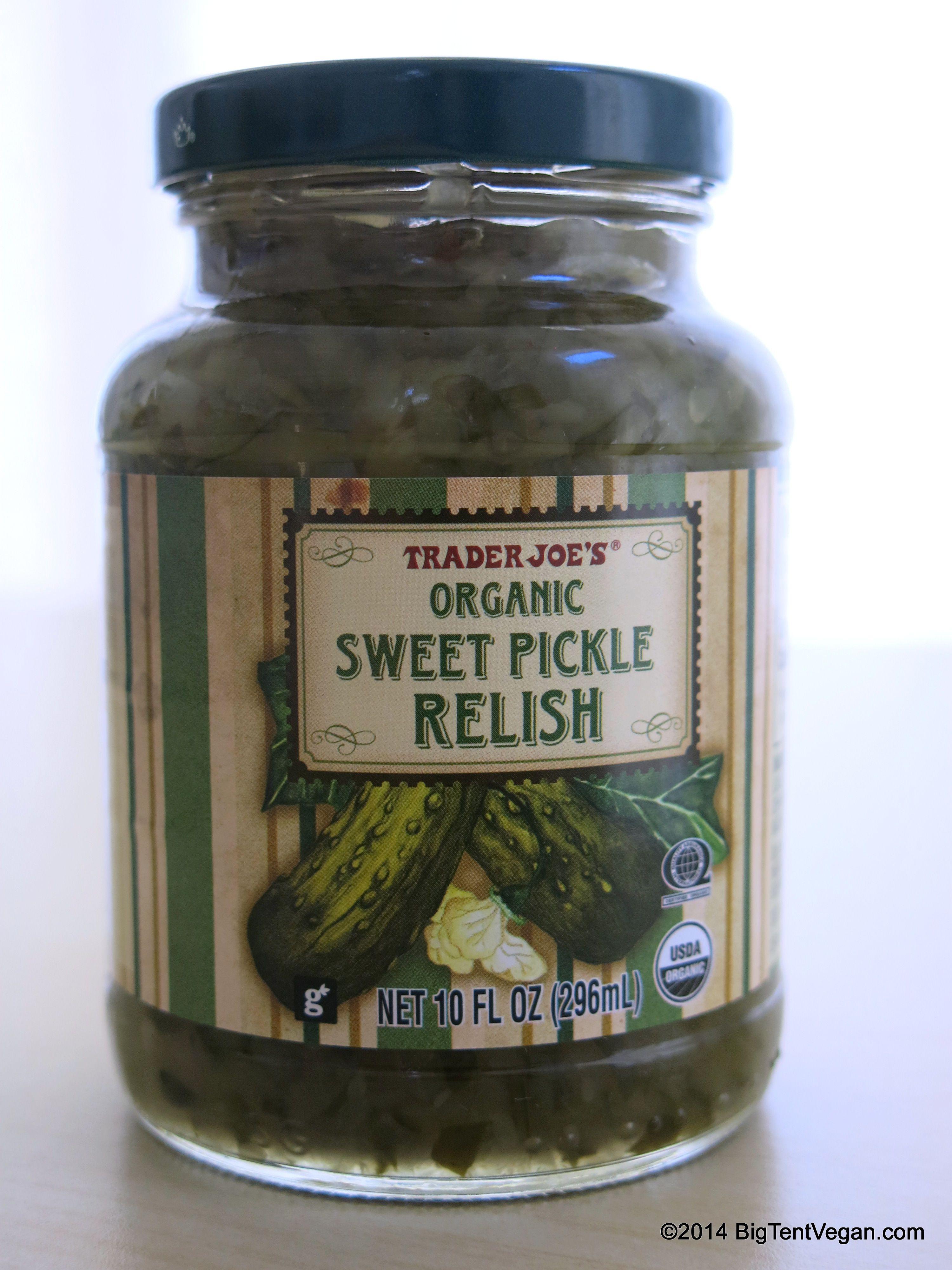 Organic Sweet Pickle Relish | Vegan at Trader Joe's ...